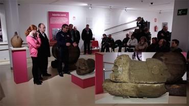 """El Museo del Alto Bierzo presenta la canaleta del siglo XVII """"La leona"""""""