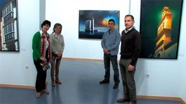 El berciano Pako Coedo estrena la muestra 'Buscando la luz' en el Campus de Ponferrada
