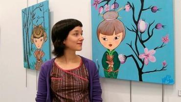 """Lorena Berzosa expone """"Mundos imaginados"""" en la Casa de la Cultura"""