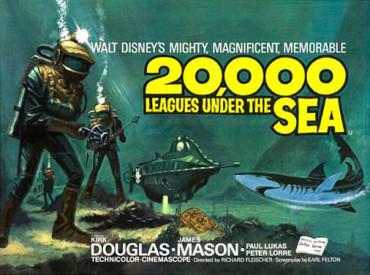 Fin de semana de música y cine con el concierto Canijos y la película 20.000 leguas de viaje submarino