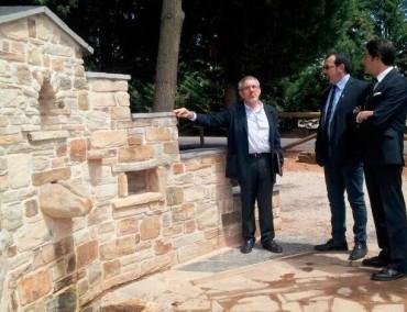 Inaugurada la adecuación del Camino de Santiago y su entorno en Camponaraya