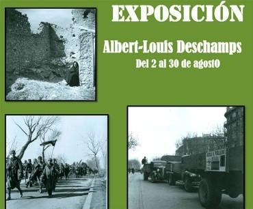 La Casa de las Culturas inaugura la exposición fotográfica de Albert Louis Deschamps sobre la Guerra Civil