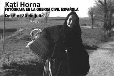 "La Casa de las Culturas inaugura ""Kati Horna. Fotógrafa en la guerra civil española"""