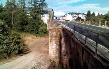 Patrimonio acepta la obras en el puente sobre el río Cúa de Cacabelos