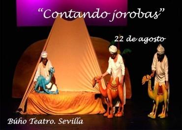 """Búho Teatro presenta en el Benevivere su espectáculo de títeres """"Contando jorobas"""""""