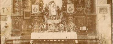 El Museo Alto Bierzo presenta el miércoles una tarjeta postal de la iglesia de San Pedro de 1910