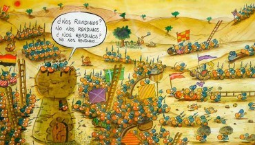 """Lolo: """"España es un país inculto a lo que al cómic se refiere"""""""