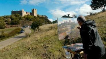 Jornada de pintura en el Castillo de Cornatel