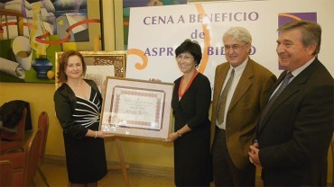 El IEB entrega el reconocimiento Socio de Honor a Asprona Bierzo