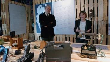 """Ene.Museo prorroga hasta mayo la expo """"Breve historia de la telefonía"""""""