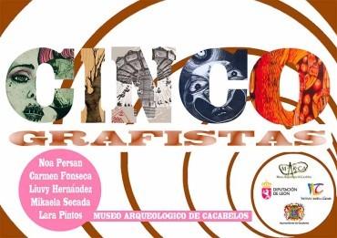 Cuatro grafistas nacionales y una cubana presentan su trabajo en el MARCA