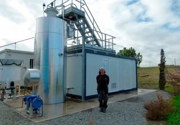 ULE y Acciona desarrollan una planta piloto para la co-digestión de lodos en EDARs