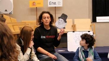 Ene.Museo abre una nueva temporada de talleres con uno sobre generación de rayos