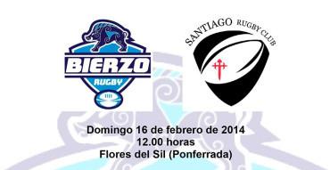 Bierzo Rugby – Santiago RC, una victoria necesaria para mantener las opciones al playoff