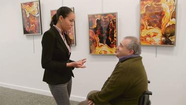 AMBI expone en la Casa de la Cultura los trabajos realizados en el Taller de Xilografía