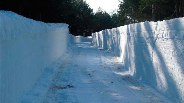La Delegación del Gobierno activa la fase de alerta por nevadas