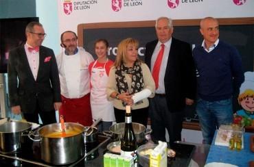 Tres colegios bercianos participaron en la 5ª edición de los Productos de León en la Escuela
