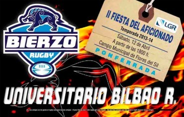 Día del Socio con Bierzo Rugby vs Universtario Bilbao