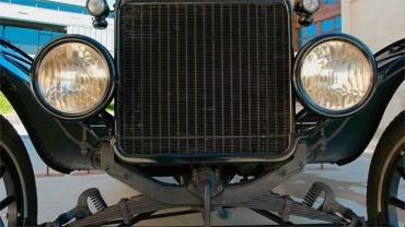 Ene.Térmica expone el Ford T que forma parte de la colección permanente de Ene.Central