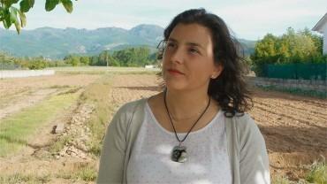 Eva Pacios, propietaria en Carracedelo