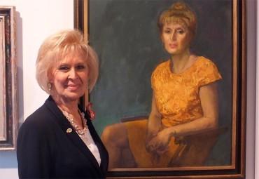 """Rosa Basante describe el retrato que le hizo José Carralero """"Verdad y sentimiento, una vida por y para la pintura"""""""