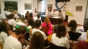 28 alumnos participan en el curso de Pintura de Paisaje impartido por Macarena Ruiz Gómez
