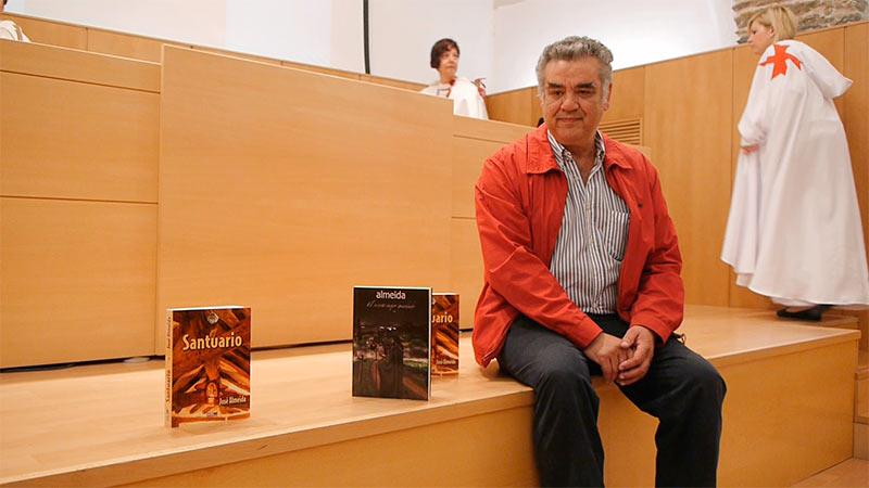 """José Almeida presenta en Ponferrada su novela """"El secreto mejor guardado"""""""