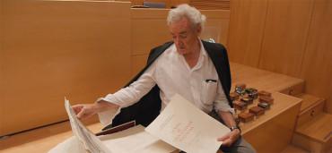 Luis del Olmo realiza una nueva aportación al Museo de la Radio