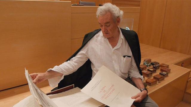El Bergidum acoge un recital poético de Luis del Olmo