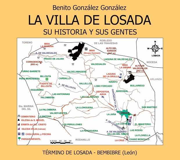 """Benito González publica """"La Villa de Losada, su historia y sus gentes"""""""