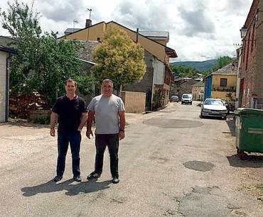 La Diptutación Provincial se compromete a mejorar la travesía de Villaverde de los Cestos