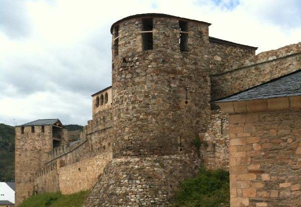 Castillo de los Templarios de Ponferrada. Foto: Raúl C.