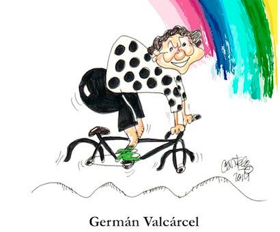 """German Valcarce presenta el libro """"Mundial a la contra"""""""