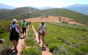 La Casa del Parque Las Médulas realizó la ruta guiada por la Senda de Reirigo