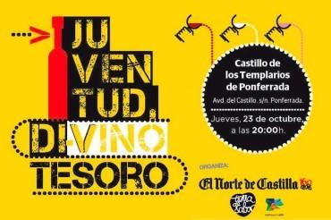 El Castillo de los Templarios acogerá la V Jornadas Juventud Di-Vino Tesoro