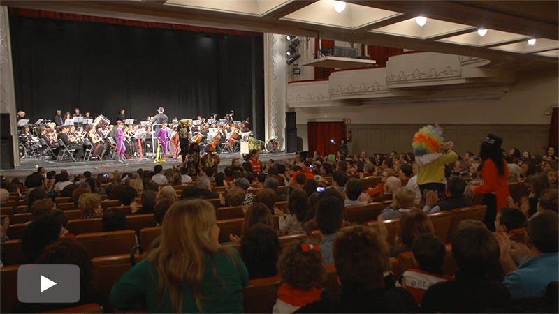 La Banda de Música cumple su cita con el público familiar con Pedro y el Lobo y Un día en el Circo