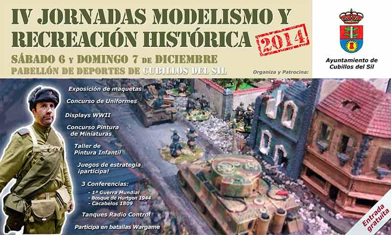 Cubillos del Sil acoge las 4ª Jornadas de Modelismo, Wargame y Recreación Histórica