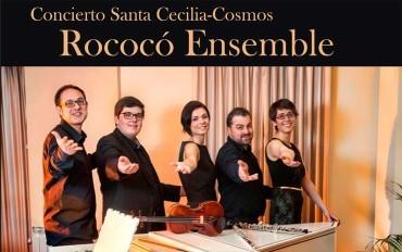 Concierto de Rococó Ensemble en la Casa de la Cultura con motivo de la festividad de Santa Cecilia