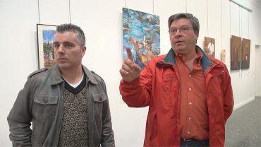 """El pintor autodidacta Hilario Ramón García expone """"Evolución"""" en la Casa de la Cultura"""