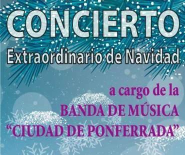 Concierto de Navidad de la Banda de Música Ciudad de Ponferrada