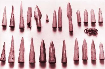 El Museo Alto Bierzo presenta como pieza del mes unas puntas del Bronce Final