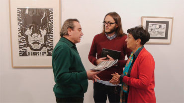 """Daniel Buitrón presenta en la sala de exposiciones del Campus """"Entretrazados"""""""