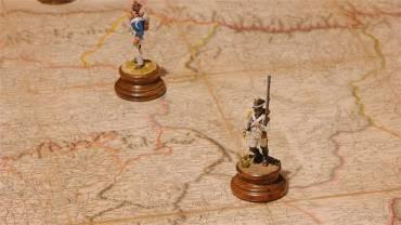 MARCA abre los actos de la IV Recreación de la Batalla de Cacabelos con una exposición de indumentaria de la época