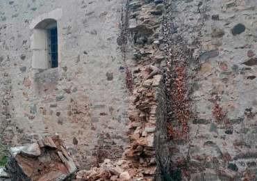 Macías urge a Patrimonio a que tome medidas para evitar incidencias como el derrumbe ocurrido en la iglesia de San Martín