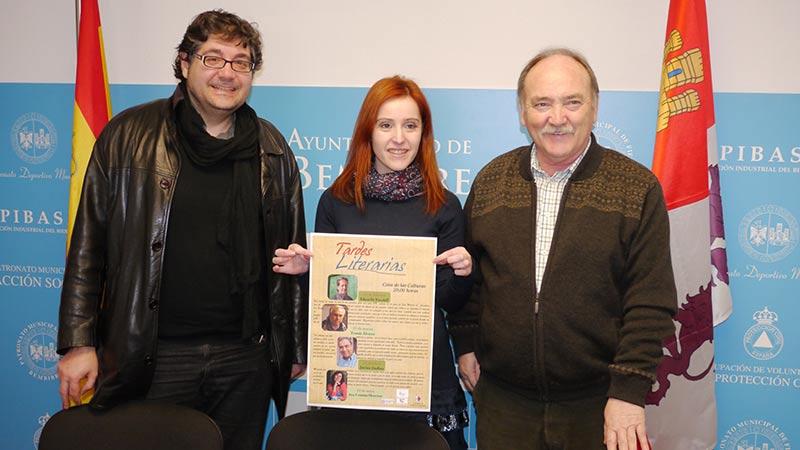 Eduardo Keudell, Tomás Álvarez, Jovino Andina y Ana Cristina Herreros protagonizarán las Tardes Literarias