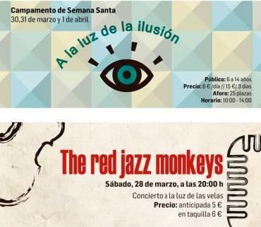 Ene.Museo presenta en Semana Santa un campamento y un concierto de The red jazz monkeys