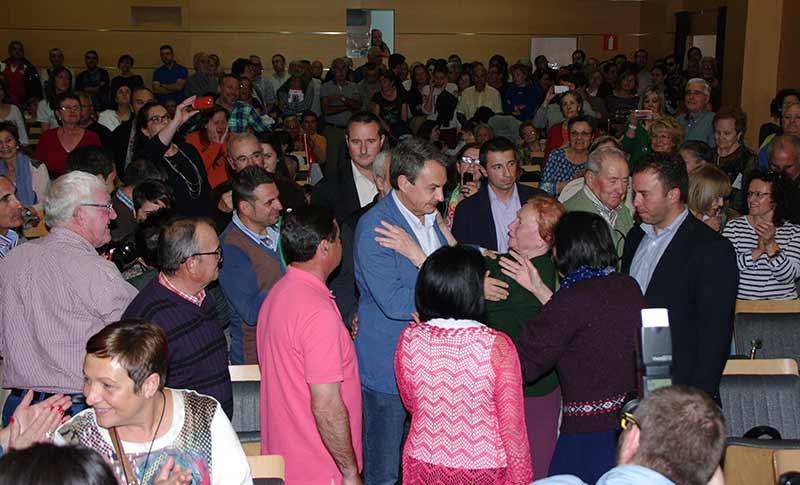 Zapatero apoya la candidatura de marqu s como la mejor for Zapatero entrada casa