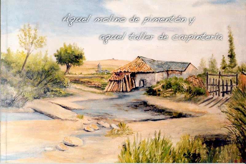 """José Manuel Martínez presenta el libro """"Aquel molino del pimentón y aquel taller de carpintería"""" para homenajear el Molino de la Blanca de Bembibre"""