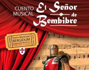 """La Escuela de Música Ciudad de Ponferrada pone en escena el Cuento """"El Señor de Bembibre"""""""