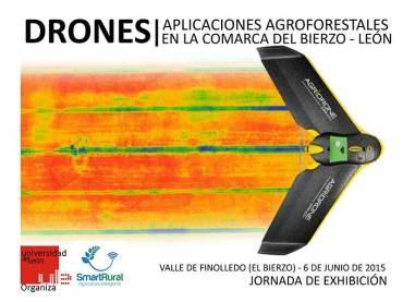 Los drones en aplicaciones agroforestales del Bierzo